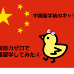 北京・清華大学留学後のキャリア|中国語力ゼロで中国留学してみた④