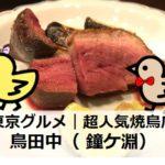 超人気焼鳥店・鳥田中(鐘ヶ淵)|東京グルメ