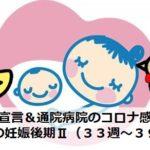 緊急事態宣言&通院病院のコロナ感染発生!波乱の妊娠後期Ⅱ(33~39週)|アラサー通訳者の妊娠ログ⑦